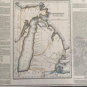Michigan Territory Map no 36