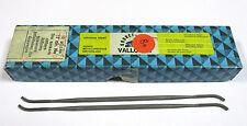 8 Grobet Swiss Vallorbe Präzisions Riffelfeilen L=170 SH-0 Nr.12831 Neu H16214