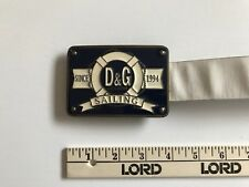 DOLCE & GABBANA Vintage D&G Sailor Belt 1994