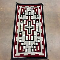 NICE! Native American (Navajo) Handmade Textile / Rug - by Lucinda Nez