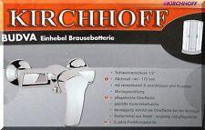Kirchhoff BUDVA Duscharmatur Bad Brause Dusche Armatur Einhebelmischer chromt 31
