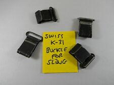 SUPER DEAL! ORIGINAL SWISS ARMY SCHMIDT RUBIN K31 SPARE METAL BUCKLE