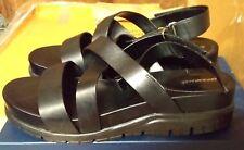 df51f4a2fba Cole Haan Zerogrand Crisscross Sandal Black Sz 11