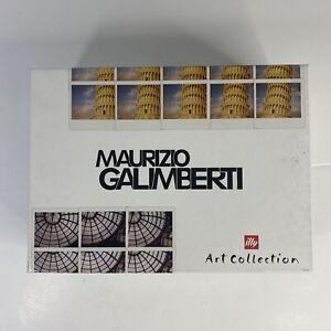 ILLY Art Collection 2018 Maurizio Galimberti Box Set (2) Mugs w/inserts