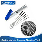 Motorcycle Carburetor Jet Cleaner Cleaning Tool 13 Needles + 5 Brushes Kit 18pcs