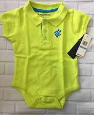 Rocawear Girls One Piece Size 6-9 Months Lime Green Brand New With Tags G81