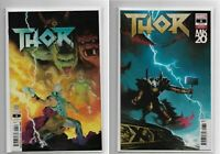 Thor #6 Ribic And Isanove Variant Covers 2018 Marvel Comics