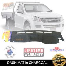 DASH MAT ISUZU D-MAX ES SX with COIN TRAY 06/2012-2019 DMAX CHARCOAL DM1314