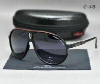 2019 NEW Carrera Glasses Men Women Retro Sunglasses Unisex Matte Frame +Box