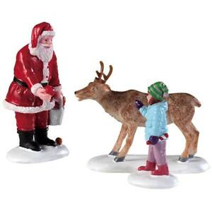 Lemax Reindeer Goodies (600), Weihnachtsdorf, Weihnachtsfiguren, Modellbau