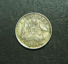 1945 Australian Sixpence