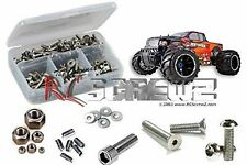 RCScrewZ - RedCat Rampage MT V3 - Stainless Steel Screw Kit - 1/5th scale rcr043
