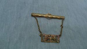 Nice vintage Anson black hills 12K gold tie clip