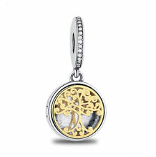 European 1pcs  Silver plated Charm Bead Fit 925 Necklace Bracelet Chain SH457