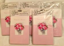 New- 5 Packs (40 Total) Shower Invitations