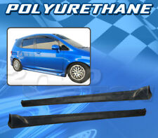 T-R Polyurethane PU Side Skirt Body kit for 07-08 HONDA FIT