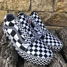 New! VANS Old Skool All Over Checker SOLD OUT IN STORES! Men's Size 10