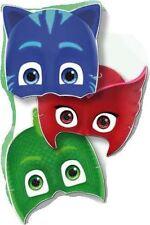 PJ MASKS MASCHERE SUPER PIGIAMINI Baby 6 Pz STOCK FESTA PARTY COMPLEANNO