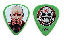 Anthrax Scott Ian Face Green Guitar Pick - 2006 Tour