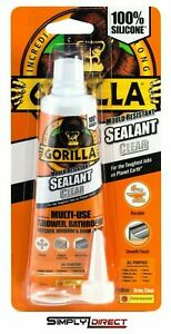 Gorilla Mould Resistant Sealant Clear Tube 80ml (1144300) Included Components