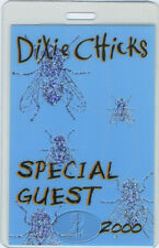DIXIE CHICKS 2000 FLY TOUR LAMINATED BACKSTAGE PASS Foil-Printed