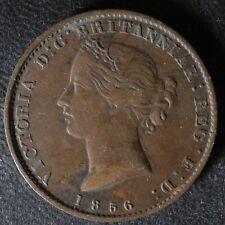NS-5A1 Halfpenny token 1856 Canada Nova Scotia Mayflower Breton 876