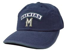 Milwaukee Brewers American Needle Mikey MLB Blue Adjustable Baseball Cap Dad Hat