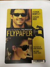 Flypaper, Patrick Dempsey, Judd, mini poster, Movie Backer Card, memorabilia