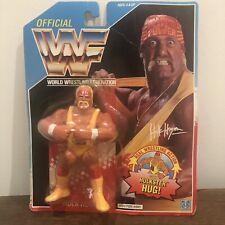 WWF/WWE HULK HOGAN salvaje Vintage Hasbro Figura De Acción 1991 serie 2 MOC
