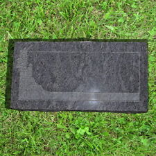 "Monument Bahama Blue Granite Grave Stone 25""W 13""H 4.5""D MN 131"
