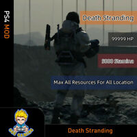 Dead Stranding (PS4 Mod)-Max Health/Stamina/Crafting materials