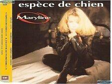 MARYLINE ESPECE DE CHIEN CD PROMO