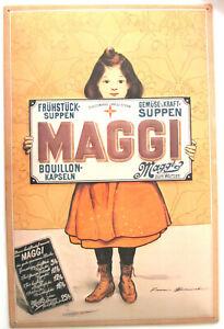 Blechschild - MAGGI - 60 x 40cm - Metallschild - Retro