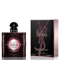 YVES SAINT LAURENT - BLACK OPIUM - 90 ml -  EDT - NEW  !!! SEALED !!!!