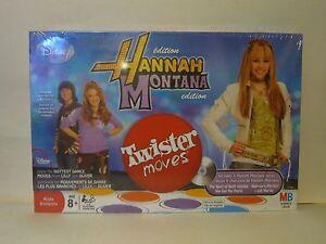 Twister Moves Game, Hannah Montana Edition, Disney 2008 NIB