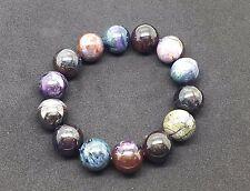 16mm sugilite 90gram Natural Round Beads Bracelet