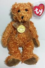 "TY Beanie Babies ""TEDDY (100th Anniversary)"" Bear - MWMTs! PERFECT GIFT! MINT!"