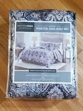 Madison Park Essentials Quilt and Shams Set - King/California King
