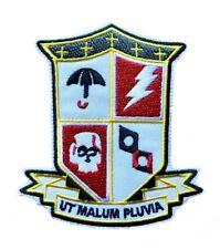 Umbrella Academy Patch Iron On Sew On Embroidered  School Crest Badge Uniform Costume Jackets Jeans Blazers DIY TV Series