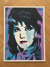 8a15d936a5f Shepard Fairey Obey Joan Jett Screen Print