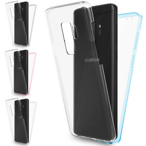 NALIA 360° Handy Hülle für Samsung Galaxy S9 Plus, Full Cover Display Schutz