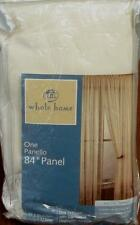 "Whole Home 84"" Luxurious String Georgette Panel (One)- BRAND NEW - Semi-Sheer"