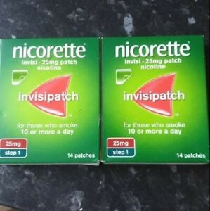 Nicorette Invisipatch 25mg Step 1 Patches - 14's X2