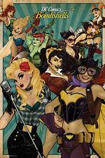 Fp3748 Dc Comics Bombshells Maxi Poster 61cm X 91,5 Cm