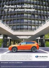 2013 Subaru XV Crosstrek - Original Advertisement Print Art Car Ad J895