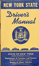 New York State Driver's Manual 1957 Department of Motor Vehicles