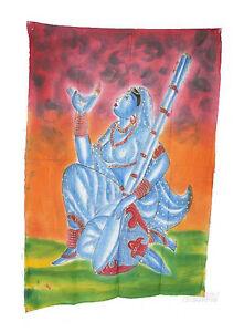 Batik Woman Hindu India 115x 74cm Crafts India Peterandclo 5049