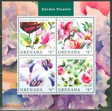 GRENADA  2014 GARDEN FLOWERS  SHEET II  MINT NH