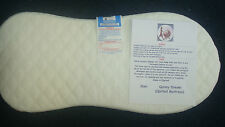 NEW DELUXE SAFETY MATTRESS FOR QUINNY BUZZ 3 OR BUZZ 4 CARRYCOT QUILTED MATTRESS