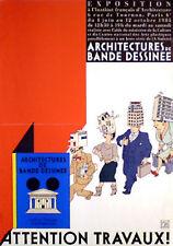 JOOST SWARTE Ausstellungsplakat von 1985 (2)